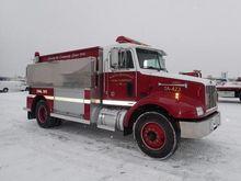 1997 PETERBILT FIRE TANKER FIRE