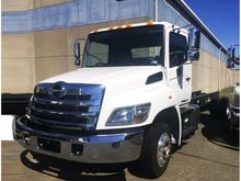 2017 HINO 258LP ROLLBACK TOW TR