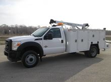 2011 FORD F550 CONTRACTOR TRUCK