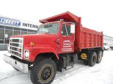 1987 INTERNATIONAL S2574 DUMP T