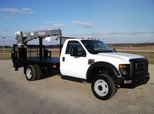 2008 FORD F550 XL SD 4X4, 20' C
