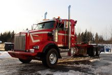 2009 KENWORTH T800 Winch truck