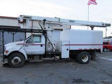 2007 FORD F750 Bucket truck - b