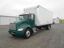 2011 KENWORTH T270 BOX TRUCK -