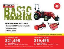 2017 Branson Tractors 3015R Bas