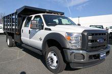 2016 Ford F-550SD Dump truck