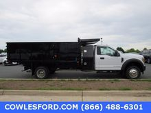 2017 FORD F-550SD CONTRACTOR TR