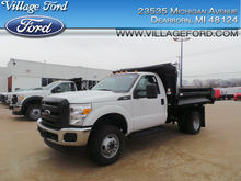 2016 FORD F-350 SUPER DUTY DUMP