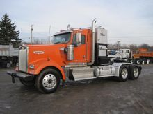 2010 KENWORTH W900 WINCH TRUCK