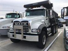 2016 MACK GRANITE GU713 DUMP TR