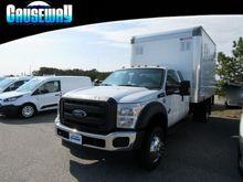 2016 Ford F550 Box truck - stra