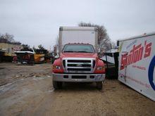 2004 FORD F650 Box truck - stra