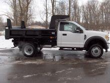 2017 FORD F550 Dump truck