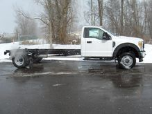 2017 FORD F550 CAB CHASSIS