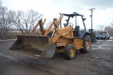 2002 CASE 570L XT Skip loaders