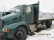 2003 KENWORTH Flatbed dump
