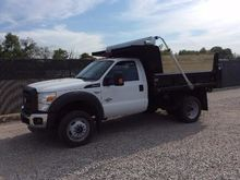 2015 FORD F550 Contractor truck