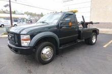 2008 FORD F450 Winch truck