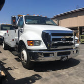 2007 FORD F650 WRECKER TOW TRUC