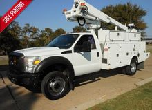 2011 FORD F-450, GAS, BUCKET /
