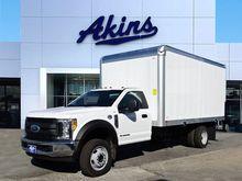 2017 Ford F550 Box truck - stra