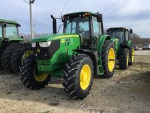 2015 John Deere 6155M Tractors