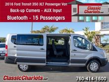2016 FORD TRANSIT XLT 350 15 CR