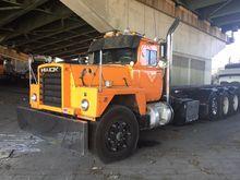 1987 MACK RD686SX Garbage truck
