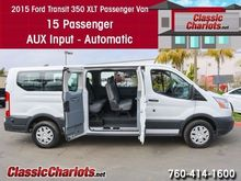2015 FORD TRANSIT XLT 350 15 CR