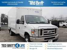 2017 FORD E-350SD BOX TRUCK - S