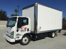 2012 ISUZU NPR Box truck - stra
