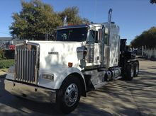 2014 KENWORTH W900 Wrecker tow