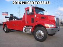 2016 PETERBILT 337 Wrecker tow