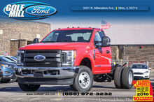 2017 FORD F-350 CAB CHASSIS