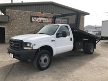 2003 FORD F450 SD FLATBED DUMP