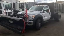 2012 FORD F550 Roll off truck