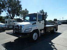 2013 HINO 268A CONTRACTOR TRUCK