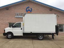 2012 CHEVROLET EXPRESS 3500 BOX