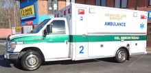 2008 FORD E450 AMBULANCE