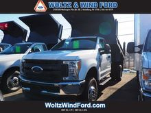 2017 FORD F350 CAB CHASSIS