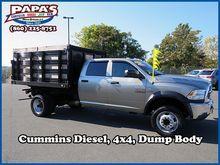 2014 RAM 5500 Flatbed dump