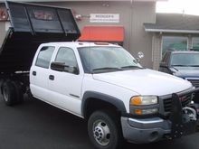 2004 GMC SIERRA 3500 DUMP TRUCK