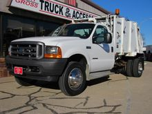 2001 FORD F450 GARBAGE TRUCK