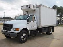 2000 FORD F650 REFRIGERATED TRU