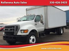 2004 FORD F-750 BOX TRUCK - STR