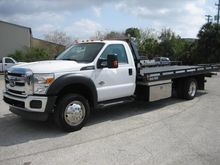 2013 FORD F550 Rollback tow tru