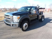 2014 FORD F450 Wrecker tow truc