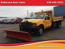 2001 FORD F-550 CAB CHASSIS
