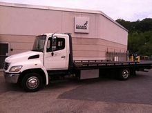 2010 HINO 358 ROLLBACK TOW TRUC