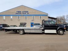 2012 FORD F650 XLT ROLLBACK TOW